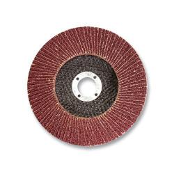 Круг лепестковый зернистость Р80, БАЗ - 125 мм / 36563-125-80