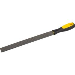 Рашпиль STAYER плоский, двухкомпонентная рукоятка, №2, 200 мм / 16631-20-2