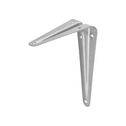 Уголок-кронштейн для полки STAYER, MASTER, 125х150х0.8 мм, серый / 37402-2