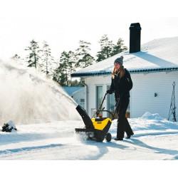 Снегоуборочники электрические