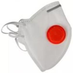 Полумаска фильтрующая DEXX противоаэрозольная многослойная с клапаном, FFP1 / 11102