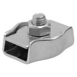 Зажим троса ЗУБР одинарный оцинкованный, 8 мм, ТФ5, 25 шт. / 4-304435-08