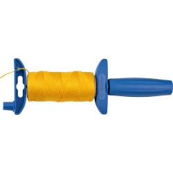 Шнур нейлоновый ЗУБР для строительных работ, сменная шпуля, поворотная катушка, 30 м / 06410-30