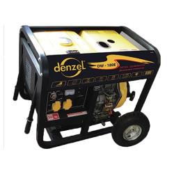 Дизельный электрогенератор с функцией сварки DENZEL DW 180E / 94664