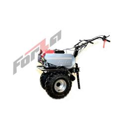 Мотоблок FORZA (УП) МБ FZ-02-6.5 FЕ (усиленный редуктор,рычаг блокировки сцепления,удлиненный рычаг переключения передач / сухозаряжен / колесо 19*7*8+фрезы+фара) / FZ03.02.27F.001
