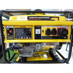 Генератор бензиновый Denzel GE 6900 (5,5 кВт) / 94637