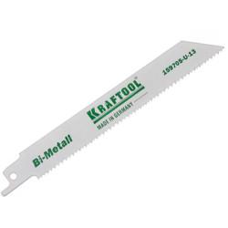Полотно KRAFTOOL INDUSTRIE QUALITAT для эл/ножовки, Bi-Metall, по металлу, шаг 1.4 мм, 80 мм / 159755-08