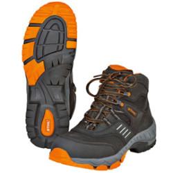 Защитные ботинки на шнуровке STIHL WORKER S3, чёрные/оранжевые, размер 44 / 0000-885-1344