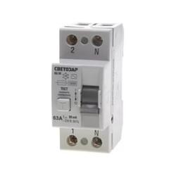Дифференциальные выключатели (УЗО)
