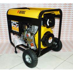 Генератор дизельный Denzel DD6300Е (5,0 кВт, 220В/50Гц, 15 л, электростартер) / 94657