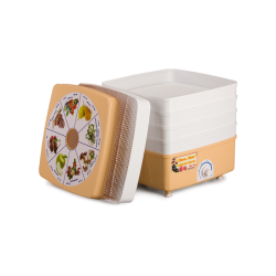 Электросушилка «Дива-Люкс (для овощей, ягод и фруктов, 5 лотков) / СШ-010