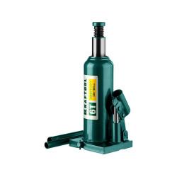 Домкрат гидравлический бутылочный KRAFTOOL KRAFT LIFT (6 тонн + высота: от 220 до 435 мм) / 43462-6