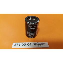 Конденсатор 200 мкФ, для сварочный инвертор, высокотемпературный  2 клеммы, КЭ-200