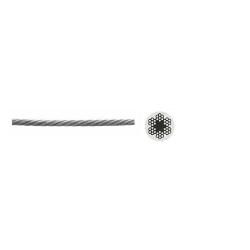 Трос стальной 4 мм, ЗУБР / 4-304110-04