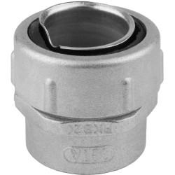 Крепежный элемент СВЕТОЗАР резьбовой металлический с внутренней резьбой, для металлорукава Ø25 мм, IP54 / 60201-25
