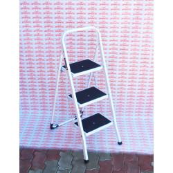 Лестница-стремянка стальная СИБИН, широкие ступени, 3 ступени, 69 см / 38807-03