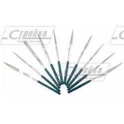 Набор надфилей алмазных Sata (10шт 4*160мм) / S03830