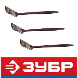 Кисти радиаторные с деревянной ручкой (Зубр, Россия)
