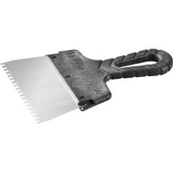 """Шпатель зубчатый ЗУБР, """"Мастер"""", 100 мм, зуб 4х4 мм / 10078-10-04"""