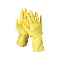 Перчатки резиновые STAYER с х/б напылением, размер L /  1120-L