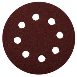 Круг шлифовальный (125 мм 8 отверстий)