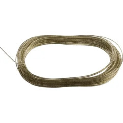 Трос стальной STAYER, MASTER, оболочка ПВХ, Ø2.0 (0.9) мм, максимальная нагрузка 80 кг, 20 м / 50145-2