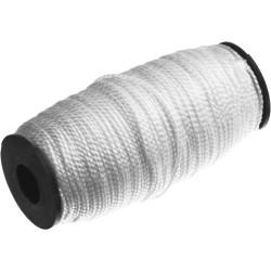 Шнур полипропиленовый крученый СИБИН, белый, 29 кгс, Ø1.5 мм, 100 м / 50528