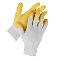 Перчатки рабочие трикотажные STAYER MAXSafe, MASTER, обливная ладонь из латекса, 13 класс, L-XL / 11408-XL