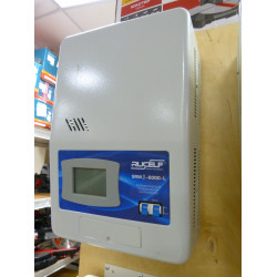 Стабилизатор напряжения цифровой Rucelf SRWII-6000-L (6 кВт + работает от 90 В + работает от -40 гр.ц., +Производство Россия) / 6000-2