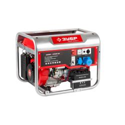 Бензогенератор ЗУБР ЗЭСБ-4500-Э (5 кВт + двигатель Honda GX340)