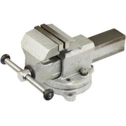 """Тиски слесарные стальные с поворотным основанием ЗУБР, """"Эксперт"""",100 мм / 32604-100"""