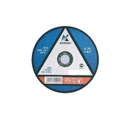 Круг отрезной абразивный по металлу 180*1,8*22,2 мм Кратон / 1 07 02 031