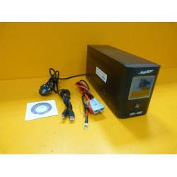 Источник бесперебойного питания RUCELF UPI-400-12 EL (400 Вт + Максимальная емкость подключаемой АКБ, 100 Ач.)