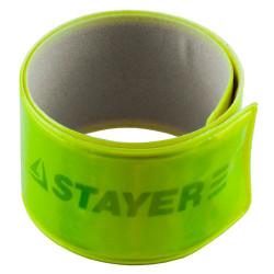 "Браслет светоотражающий, желтый STAYER ""MASTER"" / 11630-Y"