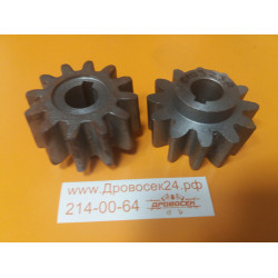 Шестерня привода бетономешалки d-19, Z-12 (010323 A) (1 шт)