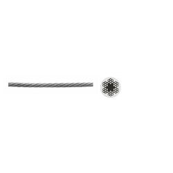 Трос стальной 8 мм, ЗУБР / 4-304110-08