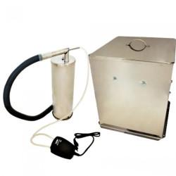 Коптильня холодного копчения «Дым Дымыч» модель 02М (нержавеющая сталь)