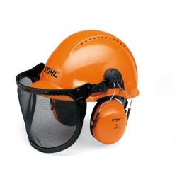 Шлем защитный с наушниками и маской STIHL / 0000-884-0187