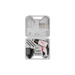 Аккумуляторная отвертка Зубр ЗО-3.6-Ли КН43 (43 предмета + кейс)