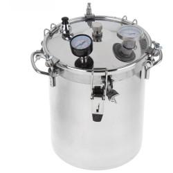 Автоклав-стерилизатор «Консерватор» (14л, нержавеющя сталь, манометр, термометр, клапан сброса избыточного давления)