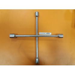 Ключ-крест автомобильный оцинкованный ЗУБР, 27543, 17-19-21-22 мм