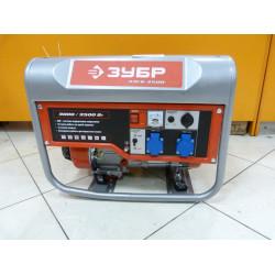 Бензогенератор ЗУБР ЗЭСБ-3500  (3,5 кВт + двигатель  Honda GX 200+ 5 лет гарантии