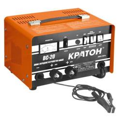 Зарядное устройство Кратон BC-20 (ёмкость заряжаемых аккумуляторов 92-250 А) / 3 06 01 005