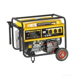 Бензиновый генератор DENZEL GE 6900E (6,9 кВт + электропуск + аккумулятор) / 94684