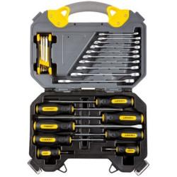 Набор инструментов STAYER универсальный, PROFI, Cr-V, хром, 26 предметов / 27710-H26