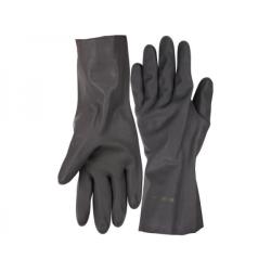 Перчатки ЗУБР сантехнические двухслойные с противоскользящим покрытием, размер XL / 11269-XL