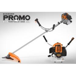 Коса бензиновая Carver Promo PBC-43 (43 куб. + нож и  леска) / 01.001.00027