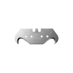 Лезвие KRAFTOOL SOLINGEN крюковидное, тип S24, 18.7х50х0.50 мм, 5 шт. / 09643-S5