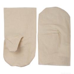 Рукавицы хлопчатобумажные, двунитка с защитой от скольжения ПВХ, XL / 11413