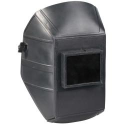 Сварочная маска ЗУБР, стекло 110*90 мм, евростекло, материал спецпластик / 110802